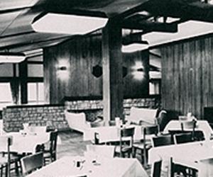 オープン当初の食堂
